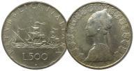 5.WŁOCHY, 500 LIRÓW 1959