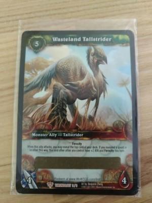 Wow Tcg Wasteland Tallstrider Loot Karta 6739500806 Oficjalne