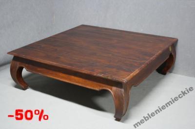 ława Drewniana Indyjska 120 Stolik Kawowy Opium 5543713683