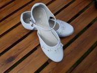 Buty białe Komunijne rozmiar 35