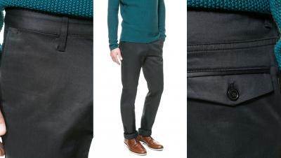 zara men spodnie eleganckie