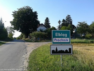 Działki budowlane Elbląg-Próchnik