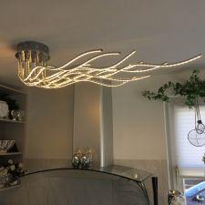 żyrandol Lampa Sufitowa Led Regulowane Ramiona 150