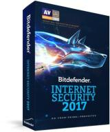 Bitdefender Internet Security 2017 licencja