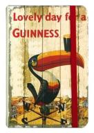 GUINNESS VINTAGE Notes 9x14cm TUKAN