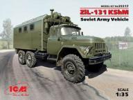 ICM 35517 - ZiL-131 KShM, Soviet Army Vehicle 1:35