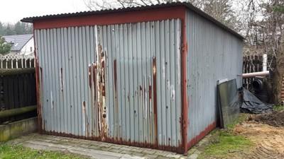 Garaż Blaszany Blaszak Wiata 5m X 3m 6767460652 Oficjalne
