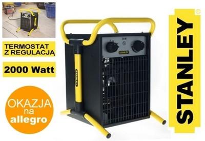 Nagrzewnica elektryczna STANLEY ST 02 230 E 2 kW