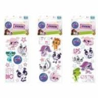 Naklejki Sticker BOO silver Littlest Pet Shop