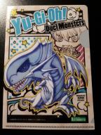 Yu-Gi-Oh! kuszulki foliowe - Blue-Eyes W. Dragon