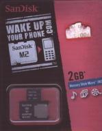 Memory Stick Micro M2 2GB + adapter