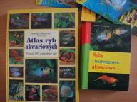 Atlas ryb akwariowych + dodatkowe książki