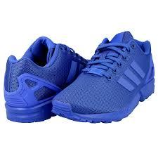 buty adidas zx niebieskie
