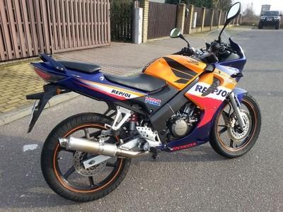 Motocykl Honda Cbr 125 Scigacz Kat B Motor 6886438217 Oficjalne Archiwum Allegro
