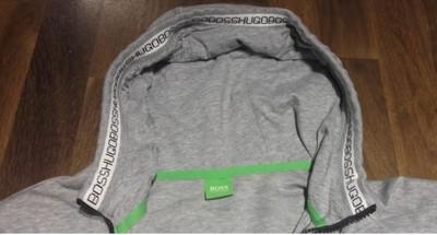 Hugo Boss green dres rozmiar M_L j nowy szary