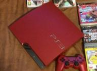 Konsola Sony PlayStation 3 RED - 320GB - BOX