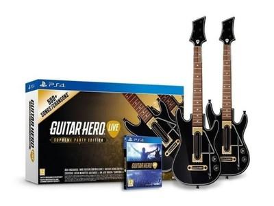Guitar Hero Live Zestaw Z 2 Gitarami Kupon 10 Eur 6961163538 Oficjalne Archiwum Allegro