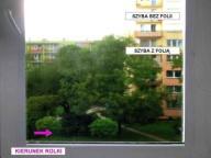 > Folia okienna matowa dekoracyjna Lambert 023