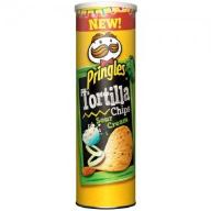 Chipsy PRINGLES Tortilla Chips Sour Cream 180g
