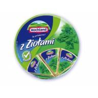 Hochland Ser Krążki Zioła 200g