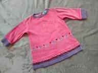 Welurowa sukienka 74 cm