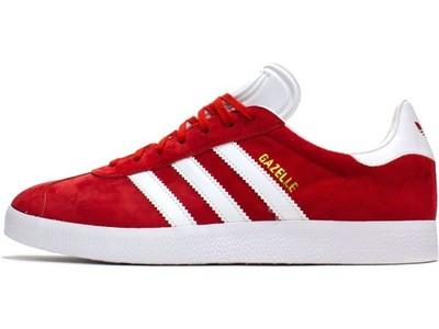 adidas gazelle męskie czerwone