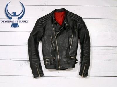 Real Leather Kurtka Męska Ramoneska Skórzana *XL*