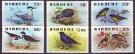 Barbuda 261-266**, 1976 r., Ptaki, 14E!