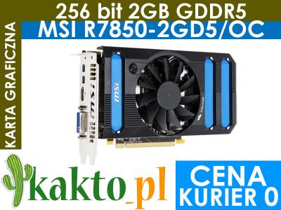 Karta graficzna MSI Radeon HD7850OC 256BIT 2mDP