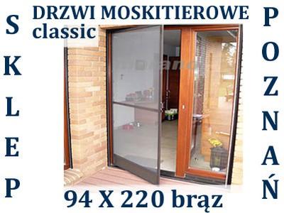 Moskitiera Na Drzwi Moskitierowe Drzwiowa 94x220br