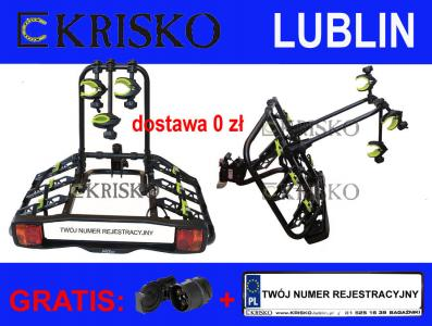 TRIO INTER PACK bagażnik platforma na hak 3 rowery