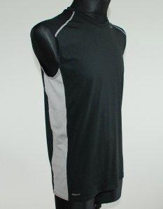 NIKE okazja koszulka męska bez rękawków czarna S/M