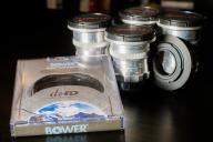 4 Obiektywy c-mount MEOPTA + Bower Filtr ND bmpcc