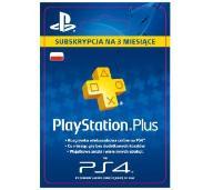 PlayStation Plus 3 msc 90 dni - kod aktywacyjny