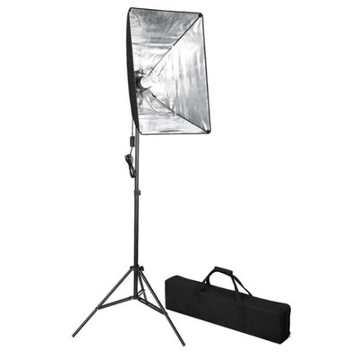 190013 vidaXL Zestaw oświetleniowy softbox 60 x 40