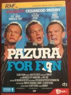 KABARETY CEZAREGO PAZURY * ZESTAW 3 DVD * JAK NOWY