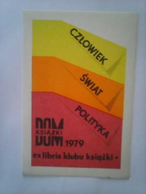 ex libris klubu książki 1979