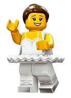 Minifigurki LEGO 71011 seria 15 Baletnica