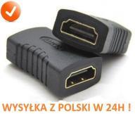 Złączka przejściówka z HDMI żeńskie do adapterHDMI