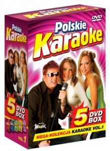 POLSKIE KARAOKE vol.1 PRZEBOJE MEGA KOLEKCJA 5xDVD