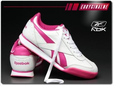 Buty Reebok Shoporama J96860 r.36,37 Biało różowe