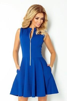 75b33992 Sukienka z zamkiem z przodu i kieszonkami XL - 6622946221 ...