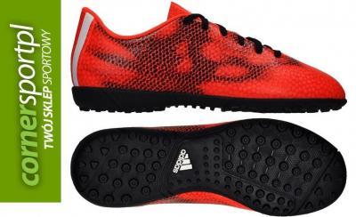 Adidas, Buty dziecięce, F5 Tf Junior, czerwony, rozmiar 38
