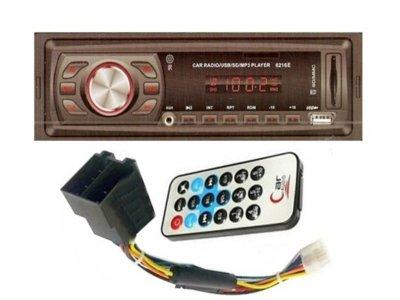 R11 RADIO SAMOCHODOWE MP3 USB AUX SD PILOT 4x50W