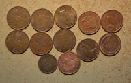 Wyspa Isle Man - 12 monet mało powtórek - BCM