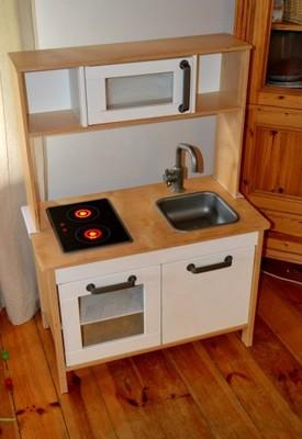 Duktig Kuchnia Drewniana Dla Dzieci Ikea 6919122919