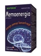 SANBIOS MEMOENERGIA LECYTYNA MACA 60 tabl. PAMIĘĆ
