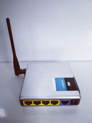 Router LINKSYS WRT 54GC