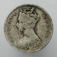 1899 Hong-Kong brytyjski Wiktoria - 10 centów