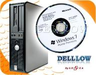 DELL 755 C2D 2x2,33 4MB DVD Win 7 HP PL + NOŚNIK